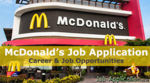 mcdonalds job application