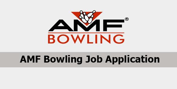 AMF Bowling Job Application