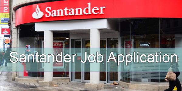 santander-job-application