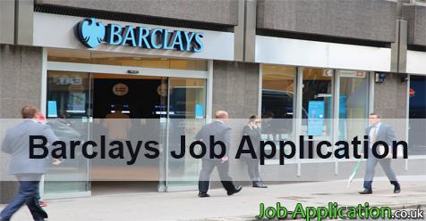 barclays job application