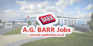 A.G. BARR Job Application Form