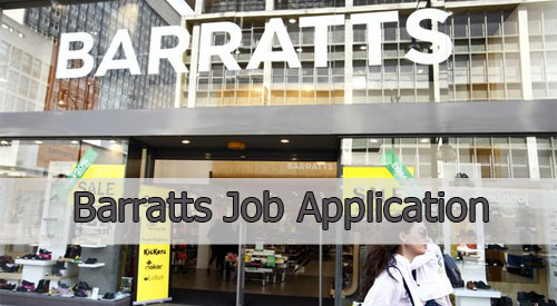 barratts job application