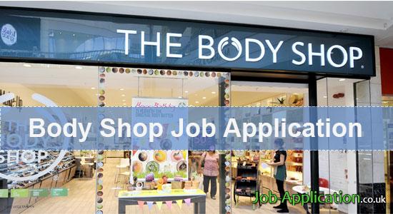 body shop job application