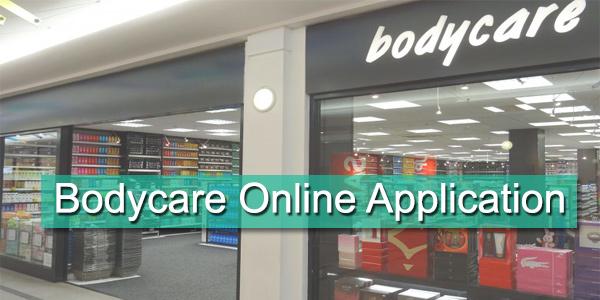 Bodycare Job Application Form