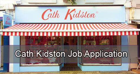 cath kidston job application