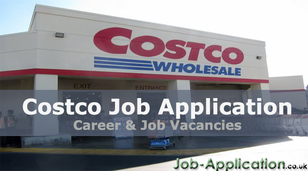 costco job application form pdf