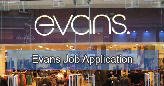 evans job application