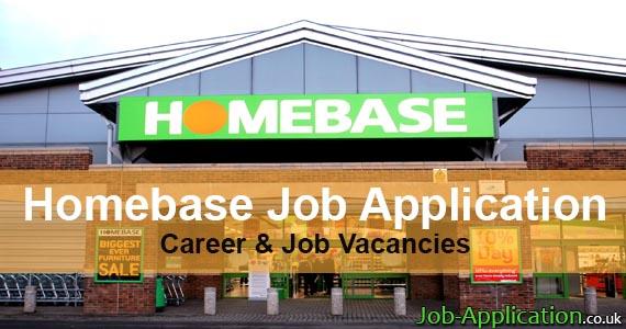 Homebase Job Application Form 2018