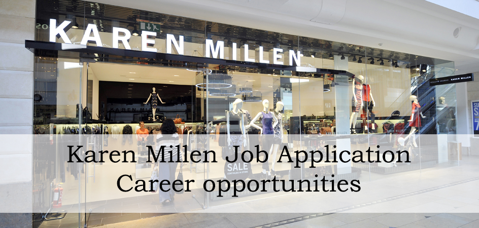 karen millen job application