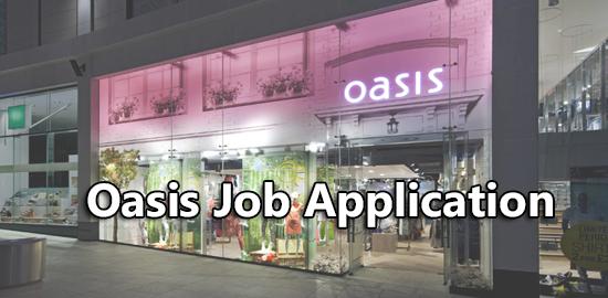 Oasis Job Application