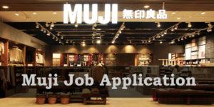 Muji Job Application