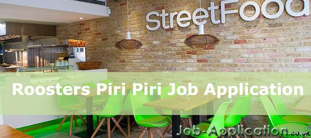 Roosters Piri Piri Job Application