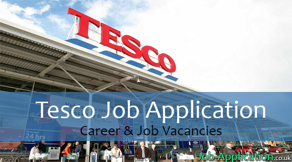 Tesco job application