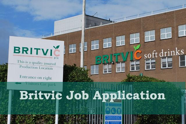 britvic job application
