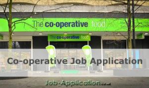 co-operative job application