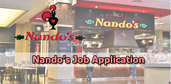 Nando's Job Application