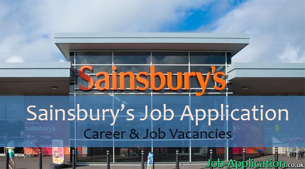 sainsburys job application