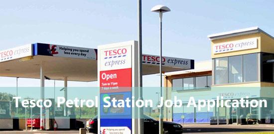 Tesco Petrol Station Job Application