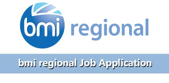 bmi regional job application