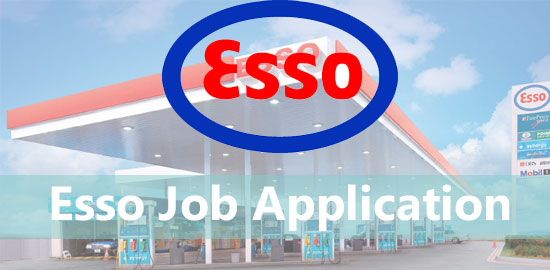 esso job application
