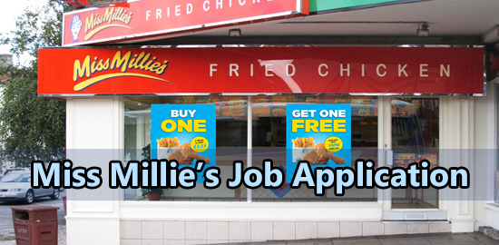 Miss Millie's Job Application