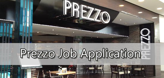 prezzo job application