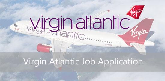 virgin atlantic job application