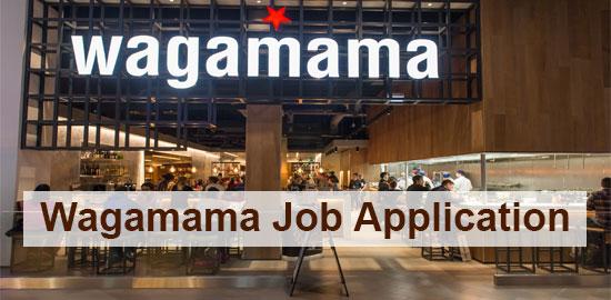 Wagamama job application