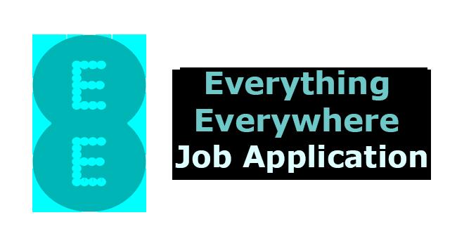Everything Everywhere Job Application