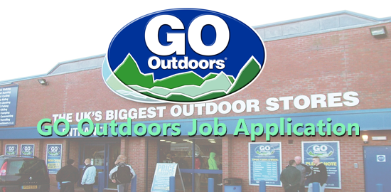GO Outdoors Job Application