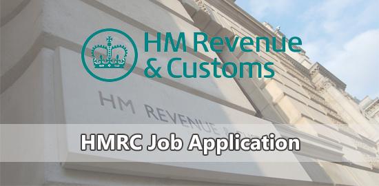 HMRC Job Application
