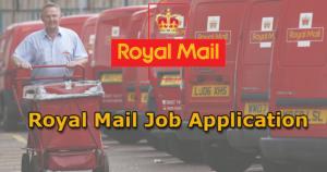Royal Mail Job Application