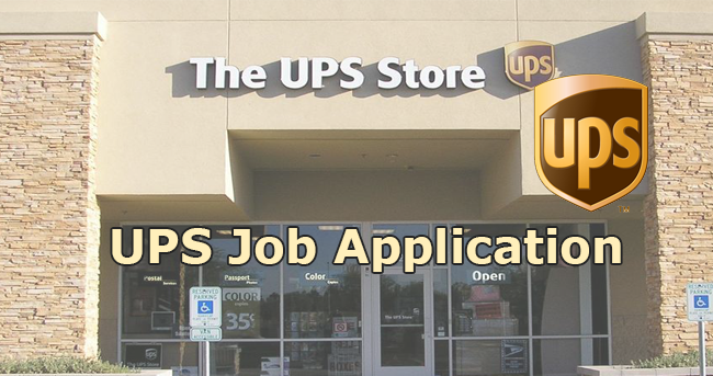 UPS Job Application