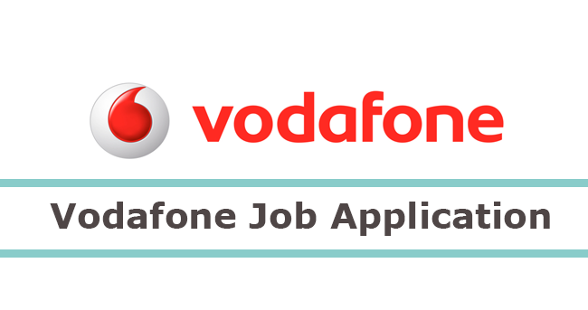 vodafone job application form 2019