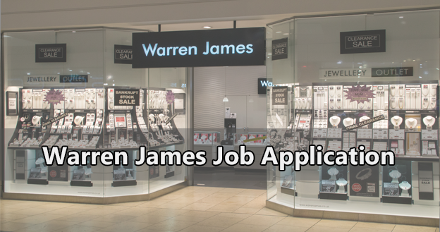 Warren James Job Application