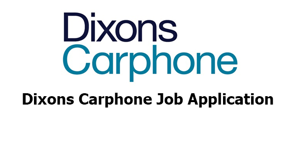 Dixons Carphone Job Application