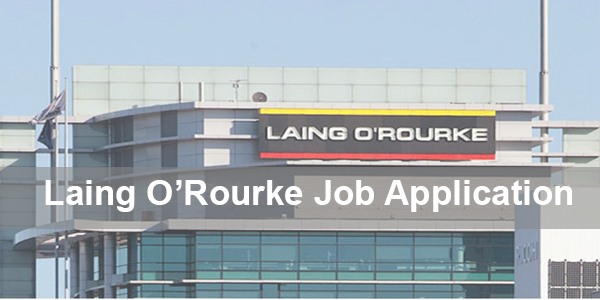 Laing O'Rourke Job Application