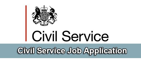 civil service job application