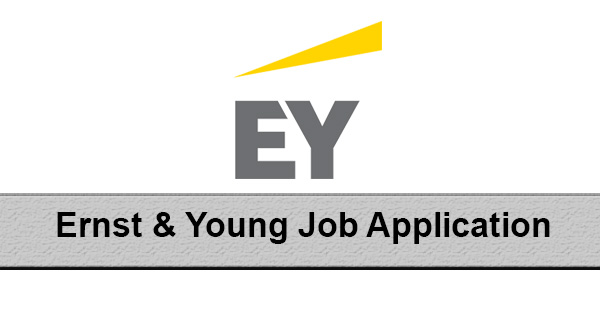 Ernst & Young Job Application