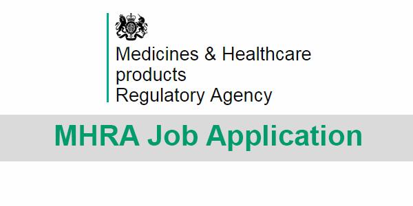mhra job application