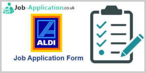 Aldi Job Application Form Online Pdf 2019 Job Application Center