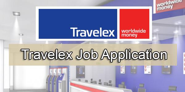 Travelex Job Application
