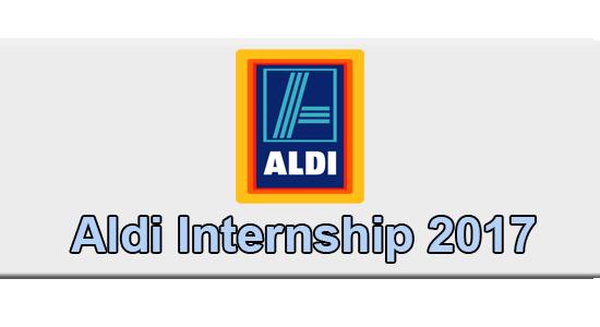 Aldi Internship Application