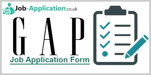 Gap Job Application Form