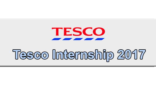 Tesco Internship Application