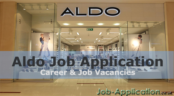 Aldo Job Application Form 2021