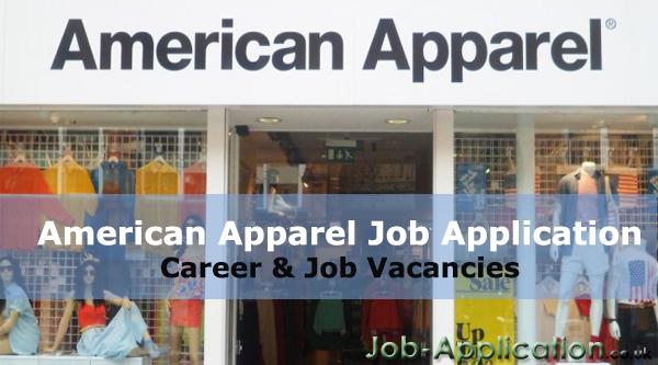 American Apparel job application