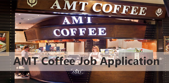 AMT Coffee Job Application Form 2021