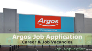 argos job application