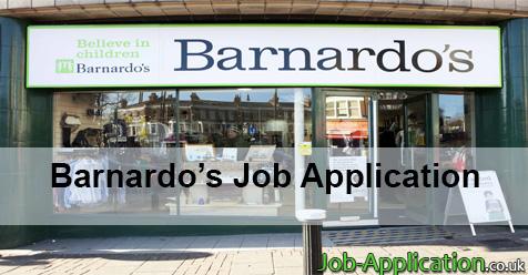 Barnardo's Job Application Form 2020